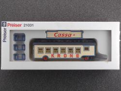 Preiser 21031 Kassenwagen Zirkus Cassa Circus Krone NEU! OVP ST