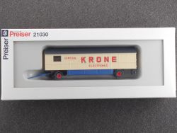 Preiser 21030 Elektronikwagen Circus Krone Electronic NEU! OVP ST
