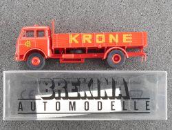 Brekina 78503 MAN 10.212 LKW Circus Zurkus Krone 1:87 OVP