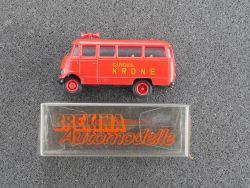 Brekina 3615 MB L 319 Lautsprecherwagen Zirkus Circus Krone OVP