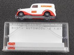 Busch 41538 Mercedes 170 V W 136 Circus Krone Lieferwagen OVP ST