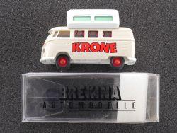 Brekina 31511 VW T1b Bus Camper als Wohnwagen Circus Krone OVP