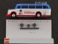 Busch 41038 MB O-3500 Reisebus Circus Krone 1:87 ohne OVP