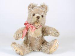 Alter Teddybär vmtl Steiff Zotty ca.28 cm 50er Bear kein KFS