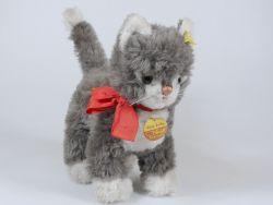 Steiff 5100/25 Cosy Sulla Katze Cat 1968-1978 KFS Knopf