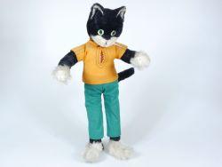 Schuco 365/40 Bigo-Bello Katze alt original Figur ca 38 cm