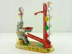 Wilesco 10300 Elefant mit Bällen Blechspielpielzeug Uhrwerk