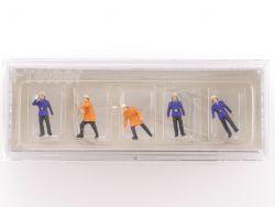 Preiser 79118 Feuerwehrmänner Modellbahn Figuren N NEU OVP