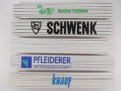 Sammlung 5x Zollstock Meterstab MFB Schwenk Knauf TOP!