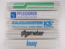 Sammlung 5x Zollstock Meterstab Mahler Popometer TOP!