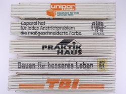 Sammlung 5x Zollstock Meterstab Beton Unipor Caparol TOP!