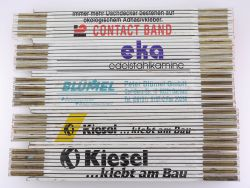 Sammlung 5x Zollstock Meterstab Kiesel Blümel TOP