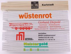 Sammlung 5x Zollstock Meterstab Presol Wüstenrot SWL TOP!
