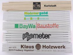Sammlung 5x Zollstock Meterstab SWL Presol BayWa TOP!
