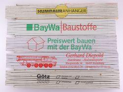 Sammlung 5x Zollstock Meterstab Götz BayWa Humbaur TOP!