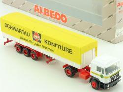 Albedo 200332 MAN Schwartau Konfitüre SZ H0 LKW OVP
