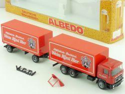 Albedo 200367 MAN Weiss Rössl Bier HZ Herpa Brauerei LKW OVP