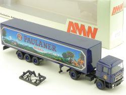 AMW AWM 5511.2 MAN Paulaner Weißbier Koffer-SZ Brauerei LKW OVP