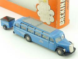 Brekina 5136 Mercedes MB O 5000 Reisebus Anhänger Berlin OVP