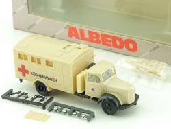 Albedo 115139 Mercedes MB Rotes Kreuz Küchenwagen 1:87 DRK OVP