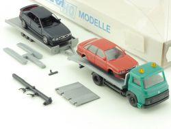 Igra 725 Avia Abschleppdienst Anhänger 2x Audi Rietze OVP