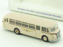 BeKa 031 Stadtbus IFA H6B Verkehrsbetriebe Dresden H0 OVP