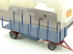 Brekina 5526 2-achsiger LKW-Anhänger Rungen für HZ 1:87 H0 OVP