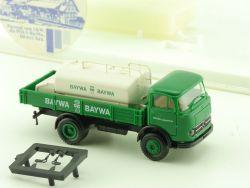 Brekina 4805 MB LP 328 Baywa Heizöl Tankwagen Pritsche LKW OVP ST