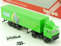 Herpa 835008 DAF 3300 Koffer-SZ Trill Wellensittich 1:87 H0 OVP