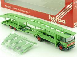 Herpa 806036 MB Mercedes Autotransporter LKW HZ 1:87 H0 OVP