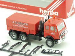 Herpa 811199 MB A Scholpp Schwerlast Zugmaschine ZM 1:87 OVP ST