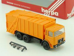Herpa 820019 MAN Pressmüllwagen Müllwagen Kommunal LKW OVP