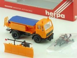 Herpa 806043 MB Mercedes Winterdienst Streuwagen 1:87 OVP