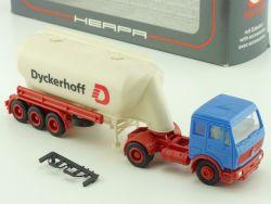 Herpa 811 115 Mercedes MB Dyckerhoff Tank-Sattelzug SZ 1:87 OVP ST