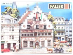 Faller 130902 Rathaus Lindau Bausatz KIT Modellbahn H0 OVP