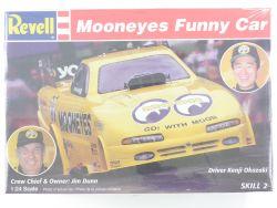 Revell 7624 Mooneyes Funny Car Dunn Okazaki Folie KIT 1:25 OVP