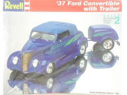 Revell 7245 Ford Convertible with Trailer 1937 KIT MIB 1:24 OVP