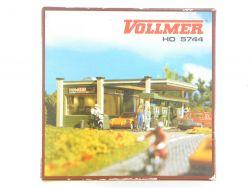 Vollmer 5744 Tankstelle Gas Station Bausatz H0 wie Neu! OVP