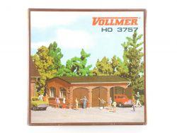 Vollmer 3757 Dreifach Garage Bausatz Modellbahn H0 wie NEU! OVP SG