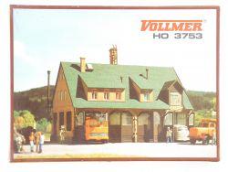 Vollmer 3753 Straßenmeisterei Bausatz Modellbahn H0 wie NEU! OVP