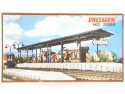 Vollmer 3559 Bahnsteig für Bahnhof Baden Baden Modellbahn H0 OVP