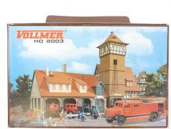 Vollmer 2003 Jubiläum 50 J. Feuerwehr 3767 5746 Brekina LF OVP