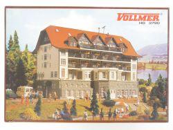 Vollmer 3790 Schwarzwaldklinik Modellbahn H0 Bausatz wie NEU OVP