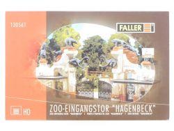 Faller 130561 Zoo Eingangstor Hagenbeck Mo keine Anleitung OVP