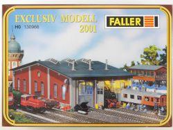 Faller 130966 Exclusiv Modell 2001 Waggon Werkstatt H0 OVP