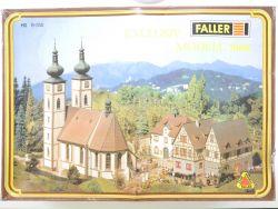 Faller B-350 Exclusiv Modell 1986 Klosterhof Kirche Bausatz OVP