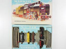 Märklin 3203 Zugpackung Güterzug mit Gleisoval BR 24 H0 800  OVP
