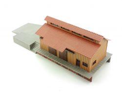 Vollmer 10230 Güterschuppen Laderampe Modellbahn Fertigmodell