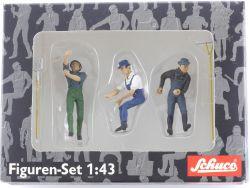 Schuco 03906 Figuren-Set Arbeiter Heuernte 1:43 Spur 0 OVP