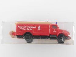IMU 20063 Magirus SoMo Feuerwehr Olympiade 1993 Berlin NEU! OVP
